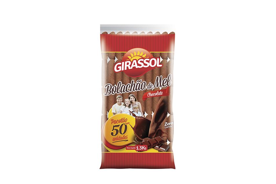 Bolachão de Mel 1300gr Chocolate